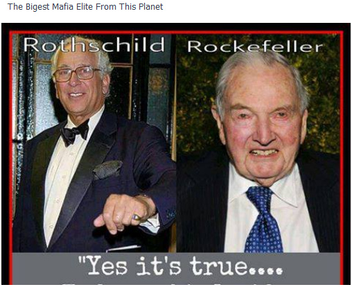 Rockefellers join Rothschilds & Soros in cryptocurrency investing