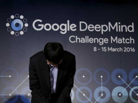 Google Deepmind artificial intelligence beats world's best Go player Lee Sedol in landmark game