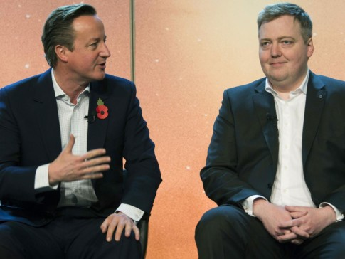 David Cameron with Icelandic Prime Minister Sigmundur David Gunnlaugsson, who was implicated in the documents