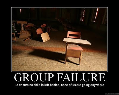 group-failure-no-child-left-behind