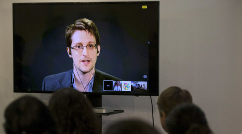 American whistleblower Edward Snowden