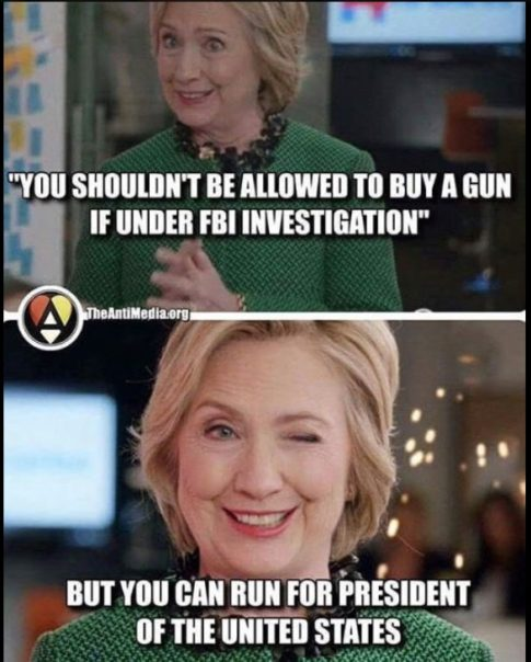 Hillary Clinton Guns FBI