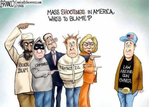 Mass Shootings In America Who is To Blame