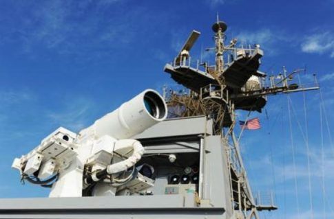 US Navy To Begin Testing Powerful 150-Kilowatt Laser Weapon System