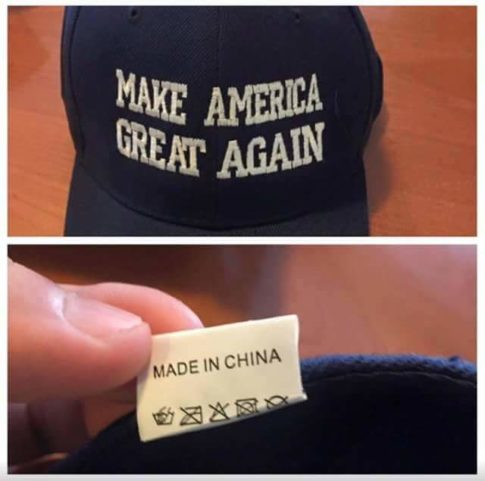 Make America Great Again - Made In China