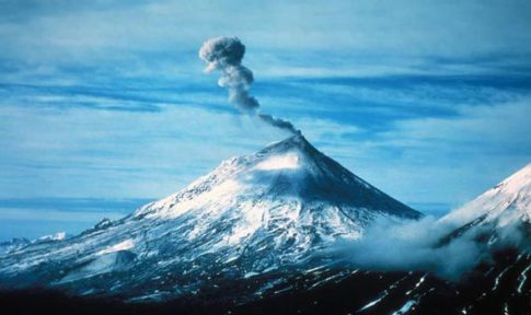 Pavlof volcano is on the brink of erupting