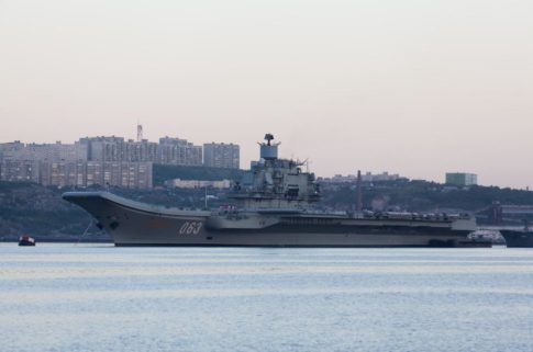 "ED5AM4 Heavy aircraft-carrying cruiser ""Admiral Kuznetsov"""