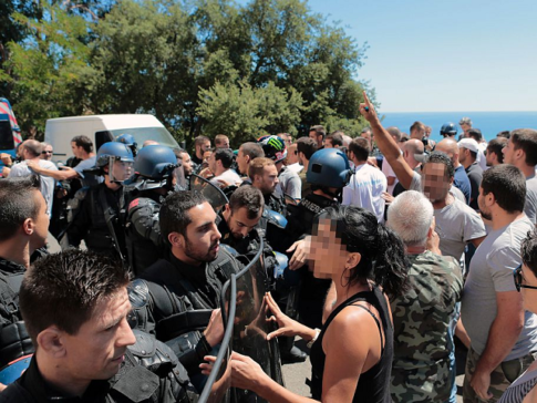 African Migrants Brawl with Locals on French Island of Corsica