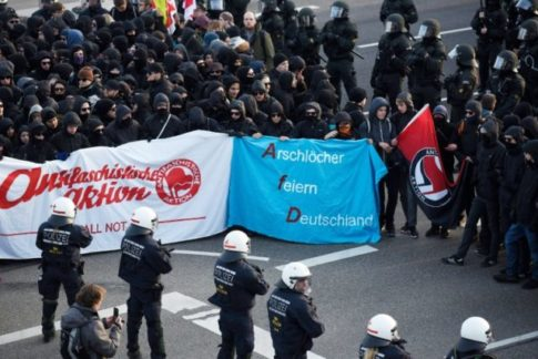 German Police Chief Shocked By Left Wing Violence