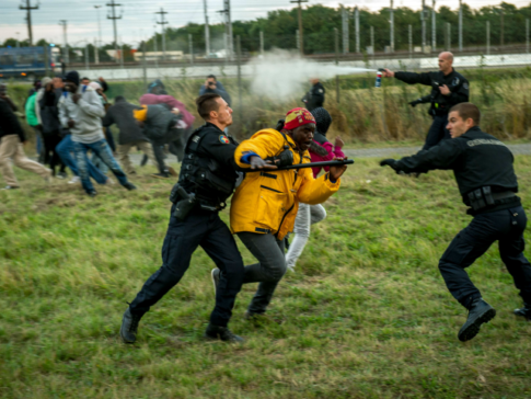 Migrant Violence Rises In Calais As Police Numbers Decline