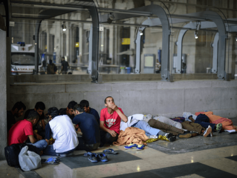 Milan-Migrants-Train-Station