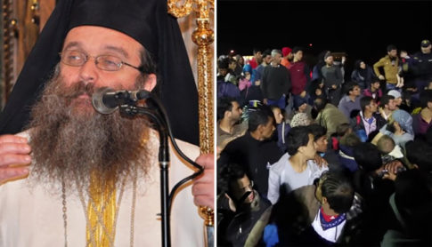 The Bishop of the Greek island of Chios, Markos Vasilakis