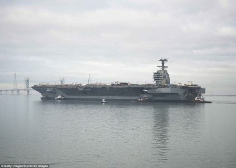 USS Gerald R. Ford Navy supercarrier