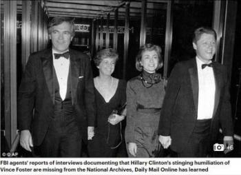 Vince Foster and Clintons