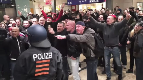 an-angry-crowd-of-german-protestors-in-cologne