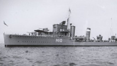 british-heavy-cruiser-hms-exeter-that-was-sunk-during-world-war-ii-it-has-now-vanished-from-its-watery-grave