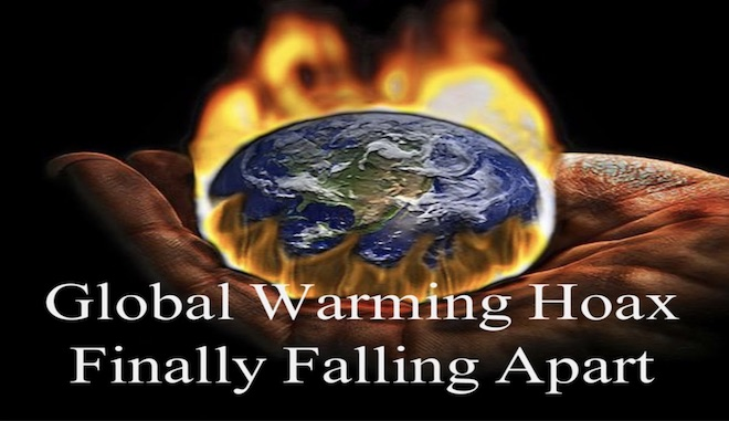 "is global warming a hoax New data shows that the ""vanishing"" of polar ice is not the result of runaway global warming."