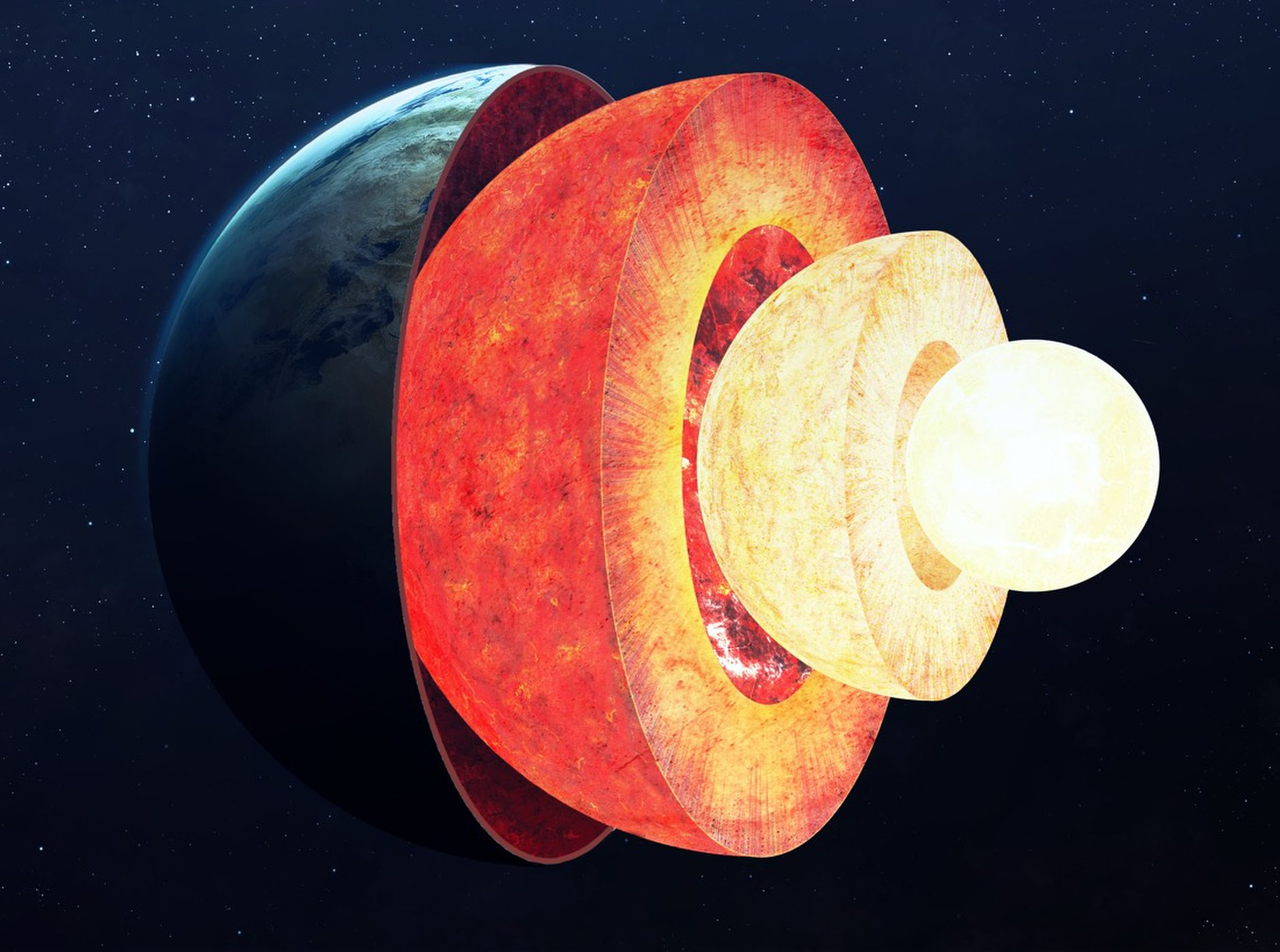 Regions Just Above Earthu0027s Core, In The Mantle Layer, Could Behave Like Huge  Lava Lamps, Says One Expert. There, Blobs Of The Molten Rock Would  Periodically ...