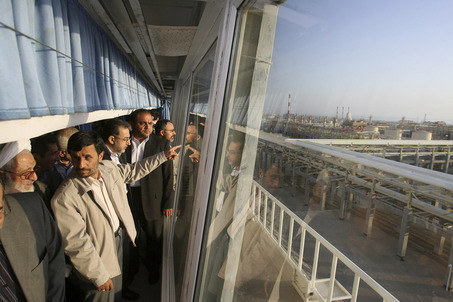 Mideast Iran Gas Refinery