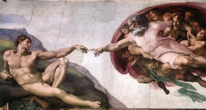 Michelangelo-Sistine-Chapel-Adam