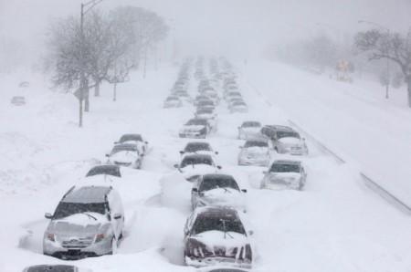 Powerful Winter Storm Paralyzes US