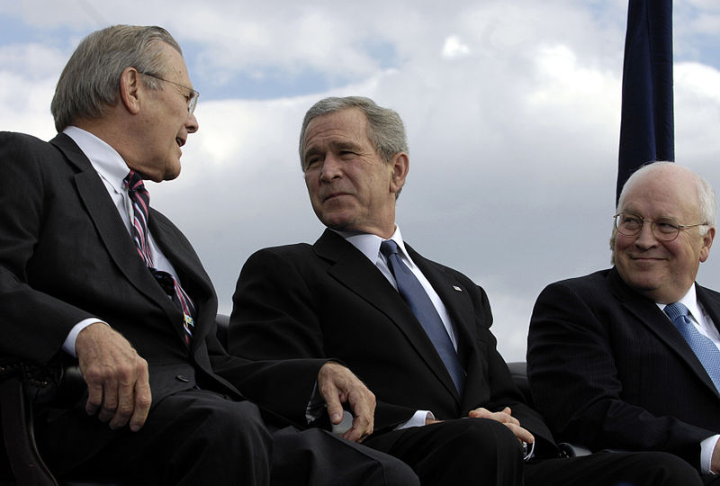 Rumsfeld-Bush-Cheney