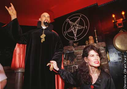 Anton Lavey, Founder of the 'Church of Satan'