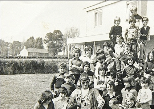 Savile at the infamous Haut de la Garenne childrens home in Jersey, Channel Islands.