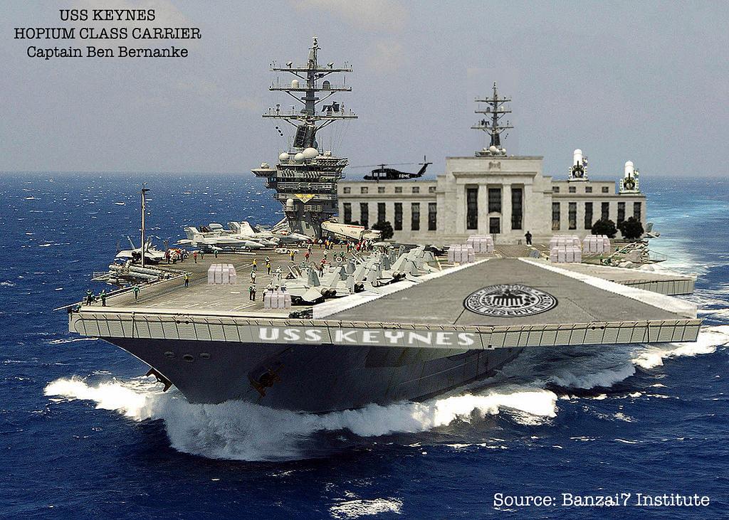 USS Keynes Hopium Class Carrier