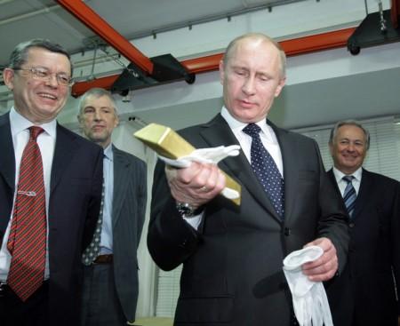 Putin-Gold