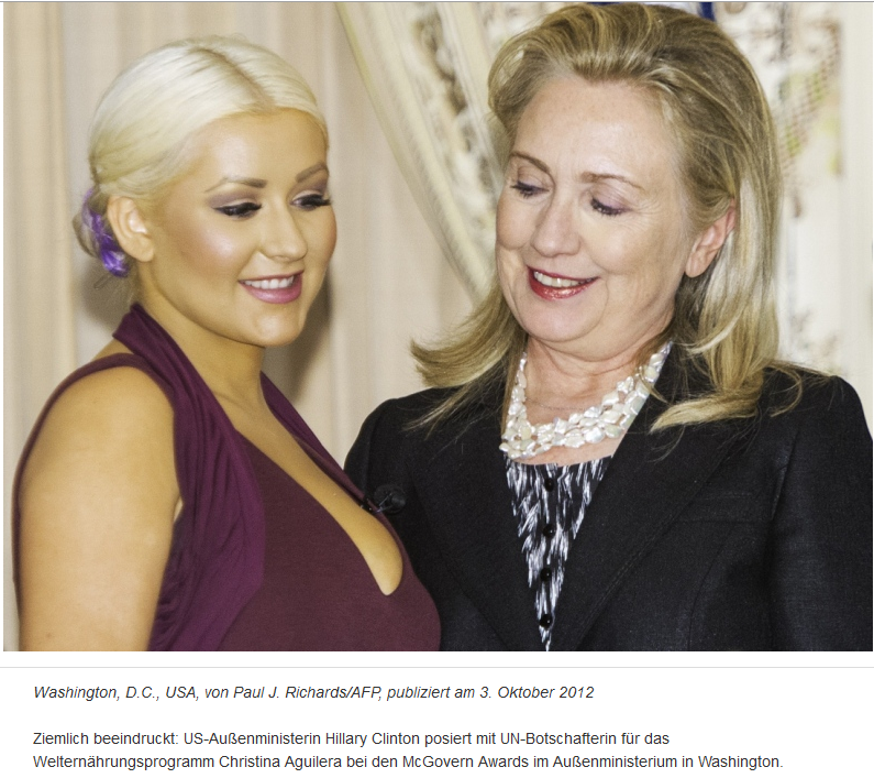 Hillary-Clinton-Christina-Aguilera