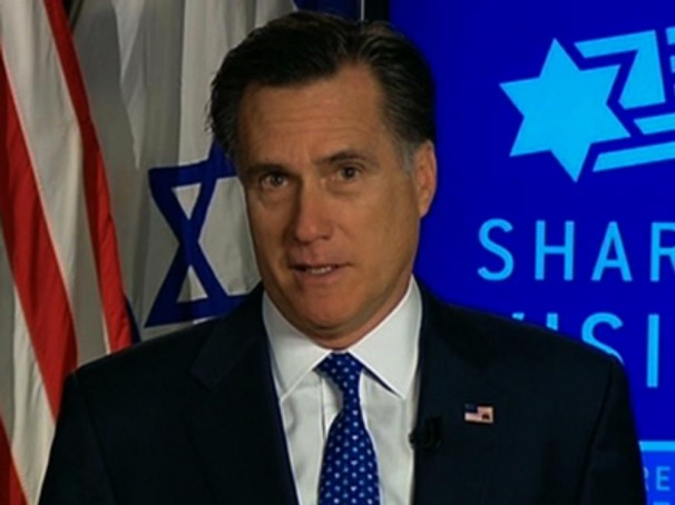 Mitt Romney AIPAC