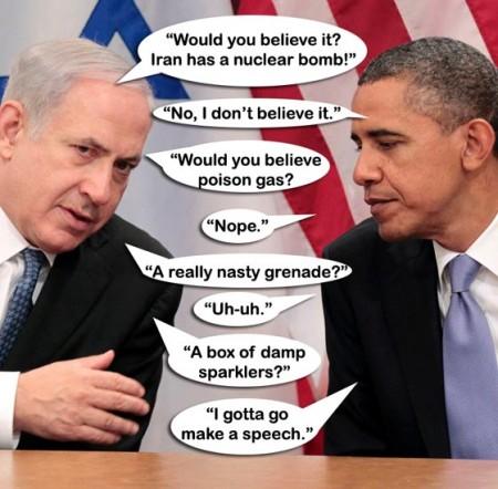 Netanyahu-Obama-Iran