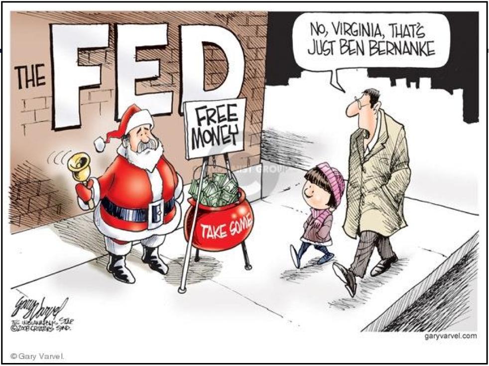 Ben Bernanke Christmas Greetings