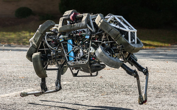 Boston Dynamics robot  WildCat.
