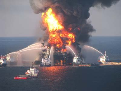 BP Deepwater Horizon - Gulf of Mexico - Disaster