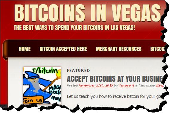 Bitcoins in Vegas