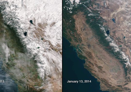 California Governor Declares Statewide Drought Emergency