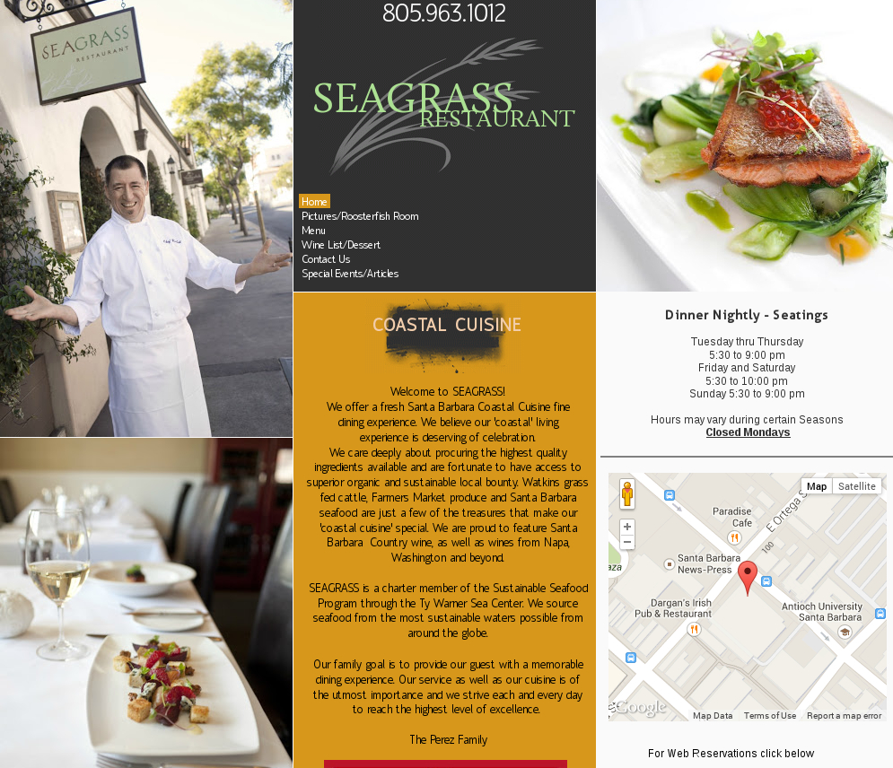 Seagrass - Restaurant
