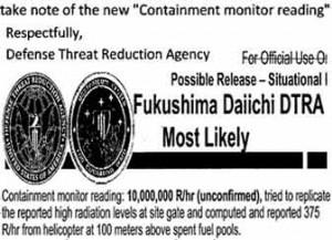 Astronomical Fukushima Radiation Levels