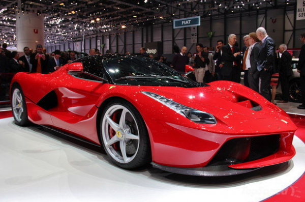 Ferrari Posts Record Sales In US