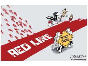 Obama Red Line