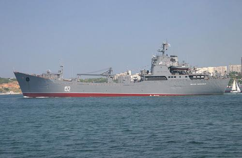 Russian Ships Carrying Soldiers Said To Be En Route To Sevastopol