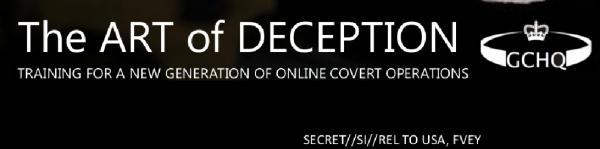 The art of deception- GCHQ