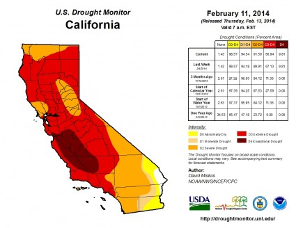 U.S.-Drought-Monitor-California-February-11-2014