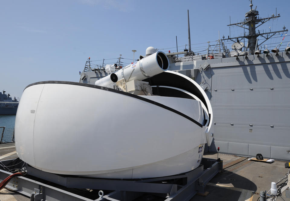 US Navy ready to deploy laser system this summer