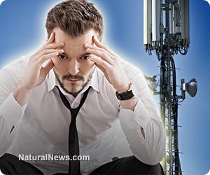 Man-Brain-Head-Cell-Phone-Tower