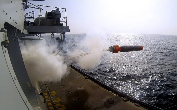 Navy warship accidentally fires torpedo at nuclear dockyard