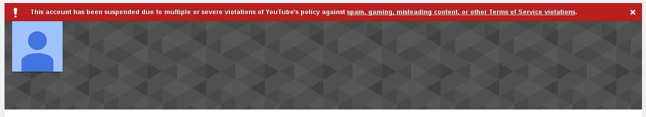 Russia Today YouTube channel suspended