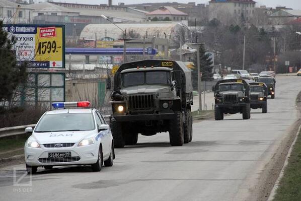 Russian trucks cop car 2